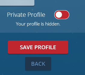 Private Profile