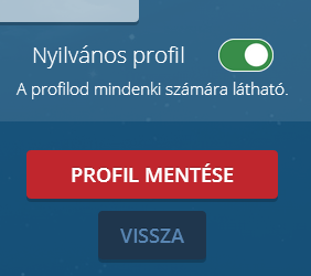 Nyilvános profil